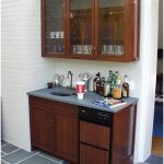 Photos of the Wet Bar Cabinets