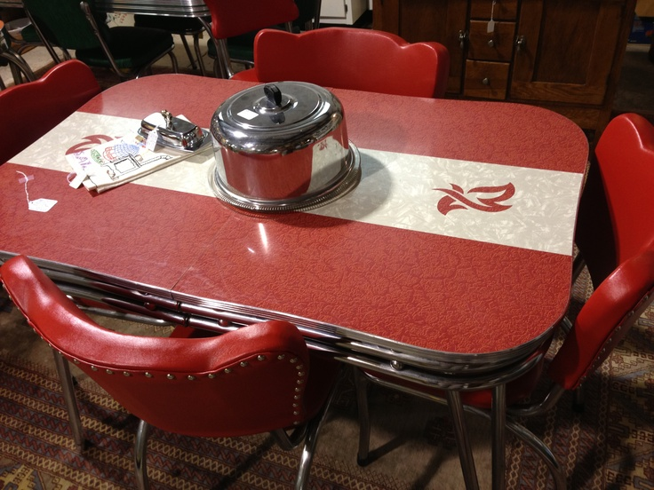 Image of: Retro Kitchen Table design