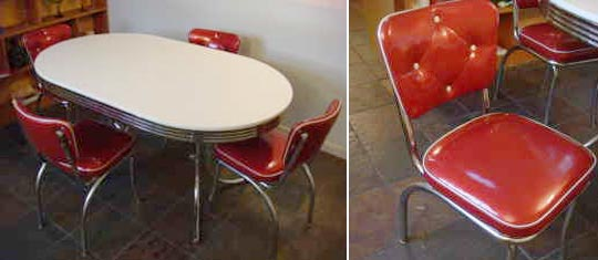 Image of: Retro Kitchen Table ideas