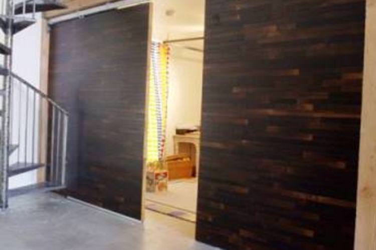 Image of: Room Divider Walls Sliding