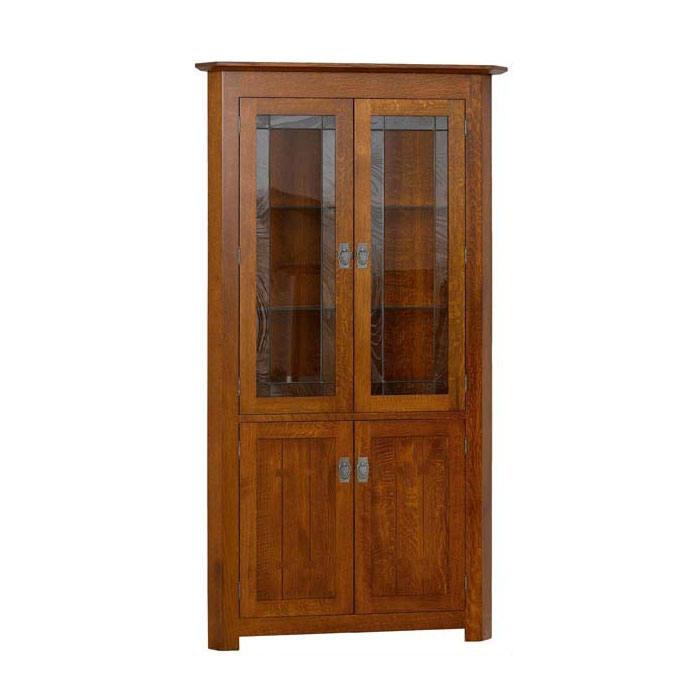 Image of: Sante Fe Corner Hutch