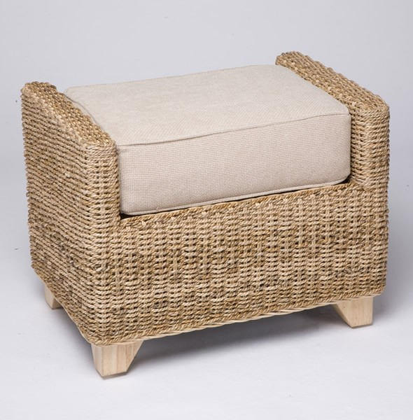 Picture of: Seagrass Furniture Ottoman