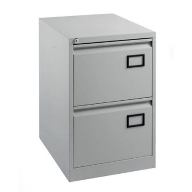 Picture of: Simple Metal File Cabinet