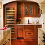 Simple Wet Bar Cabinets