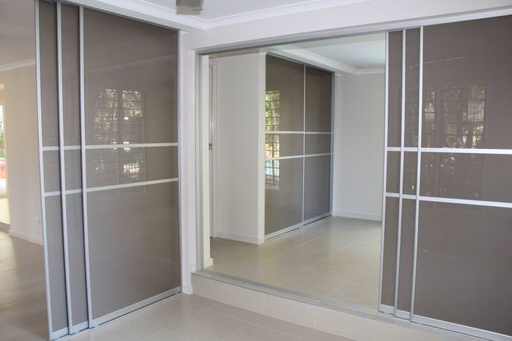 Image of: Sliding Panel Doors Room Divider