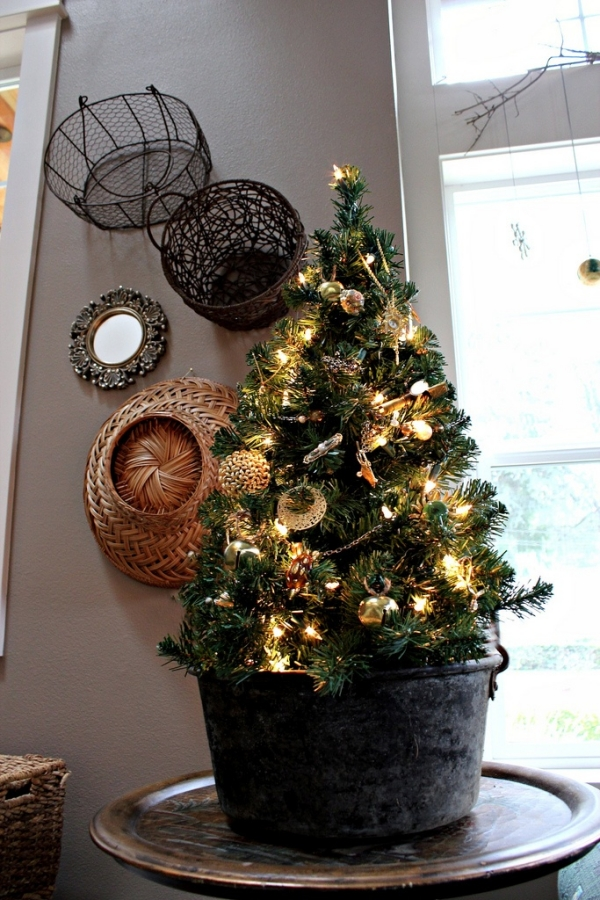 Picture of: Small Tabletop Christmas Trees