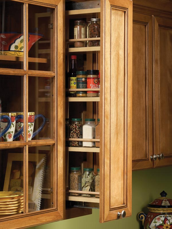 Image of: Spice Cabinet Gallery