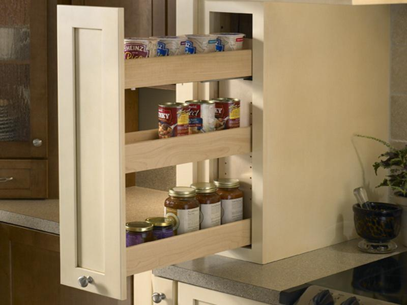 Image of: Spice Cabinet Ideas