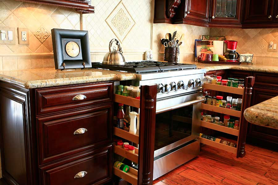 Image of: Spice Cabinet Pictures