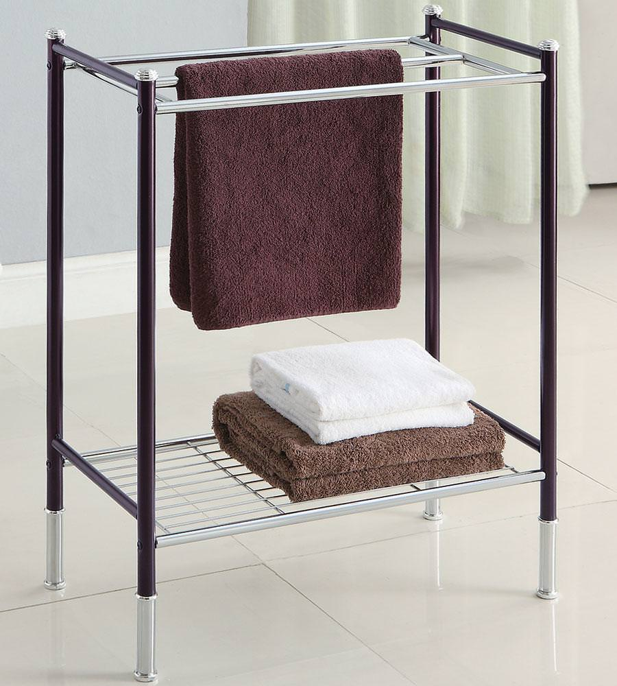 Image of: Stand Alone Towel Racks