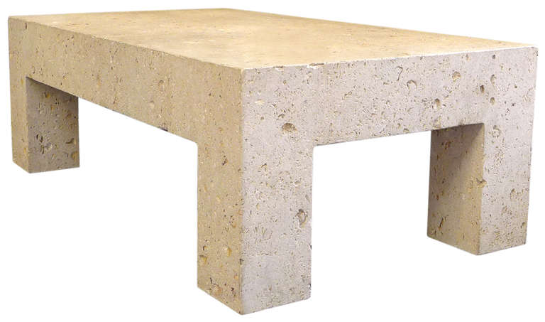 Image of: Stone Coffee Table images