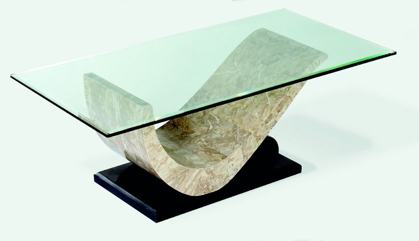 Image of: Stone Coffee Table pictures