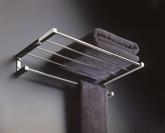 Image of: Teak Free Standing Towel Racks