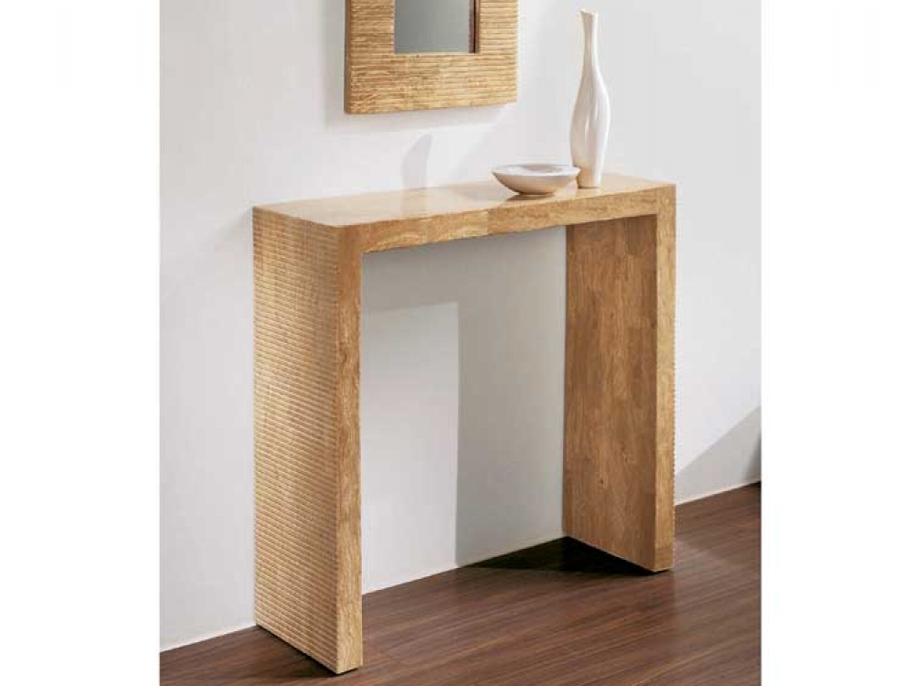 Image of: The Outdoor Console Table