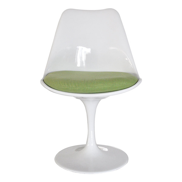 Image of: Tulip chair with green