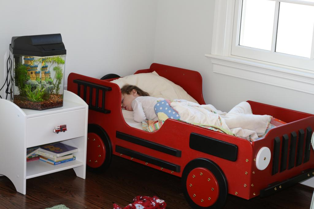 Image of: Unique Toddler Beds for Boys
