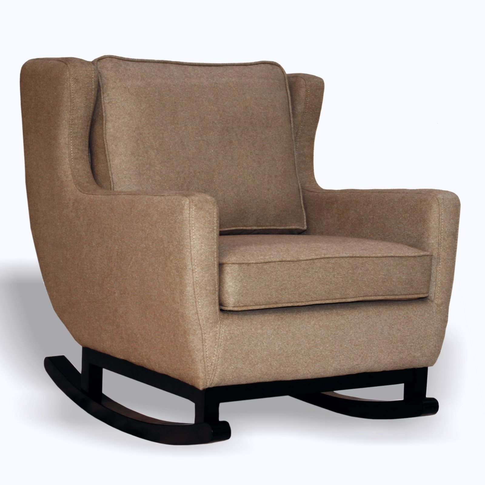 Image of: Upholstered Rocking Chair 2014