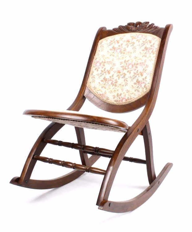 Image of: Upholstered Rocking Chair Ideas Design