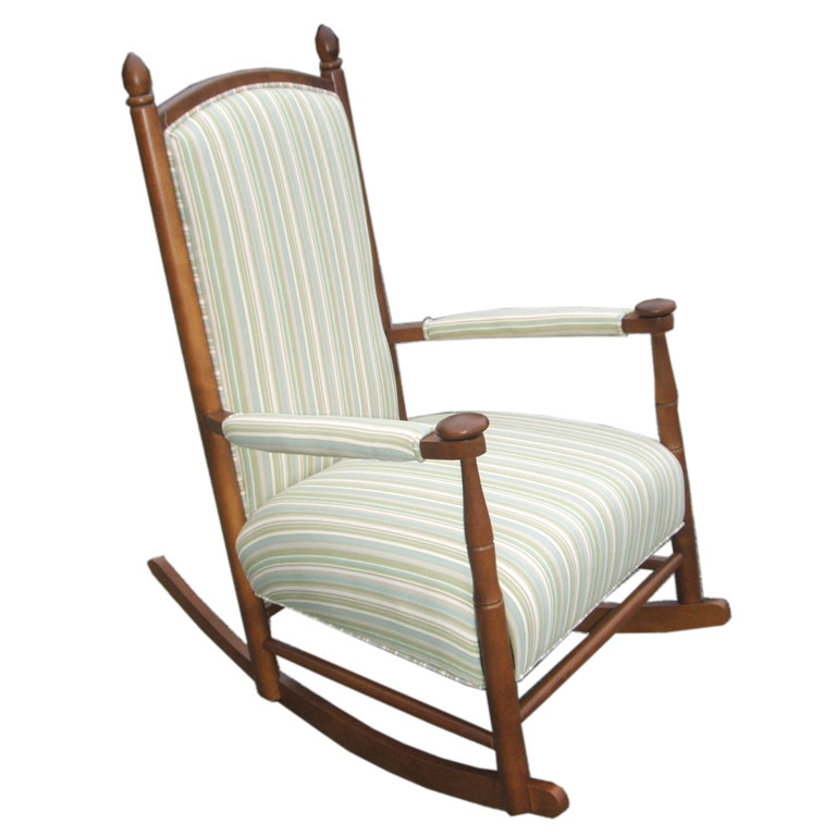 Image of: Big Upholstered Rocking Chair Ideas