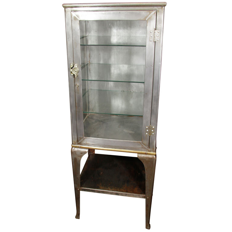 Image of: Vintage apothecary cabinet