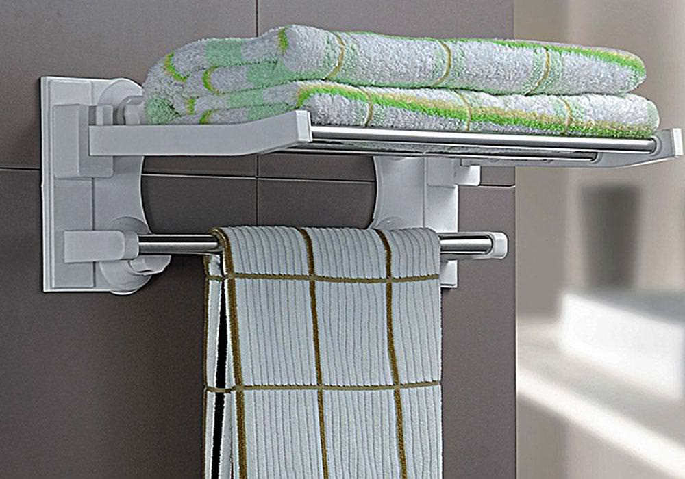 Image of: Wall Towel Rack