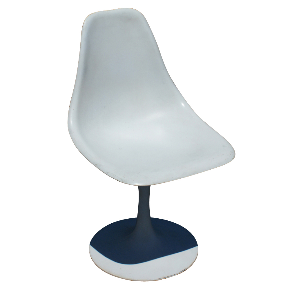 Image of: White tulip chair