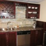 Wood Wet Bar Cabinets