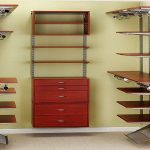 Wood closet organizers picture