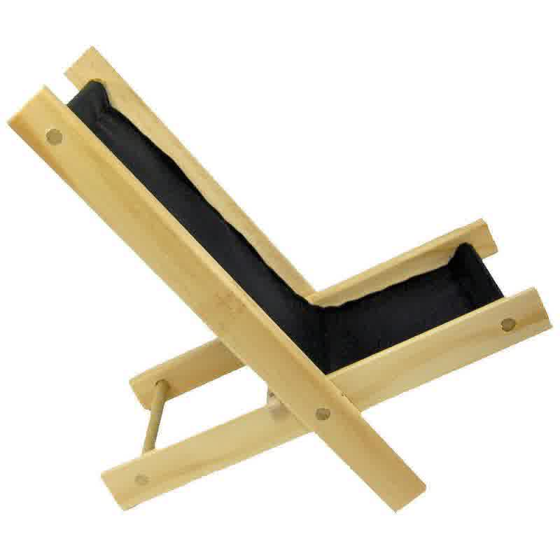 Picture of: Wood folding lounge chair