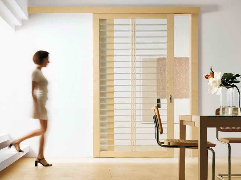 Image of: Wooden Special sliding room dividers