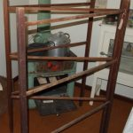 Wooden clothes drying racks