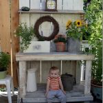 Alluring Potting Bench