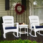 Alluring Wicker Rocking Chair
