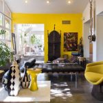 amazing yellow accent chair