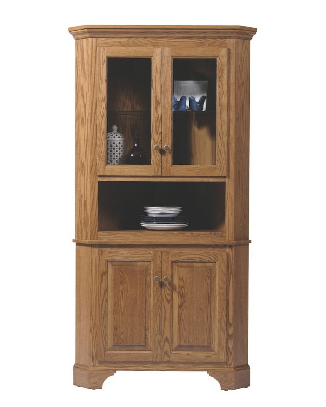Image of: americana corner hutch