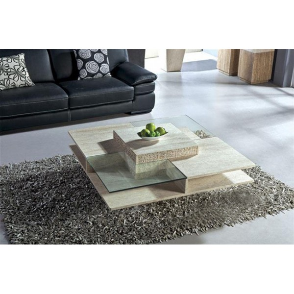 Image of: artficial marble Stone Coffee Table