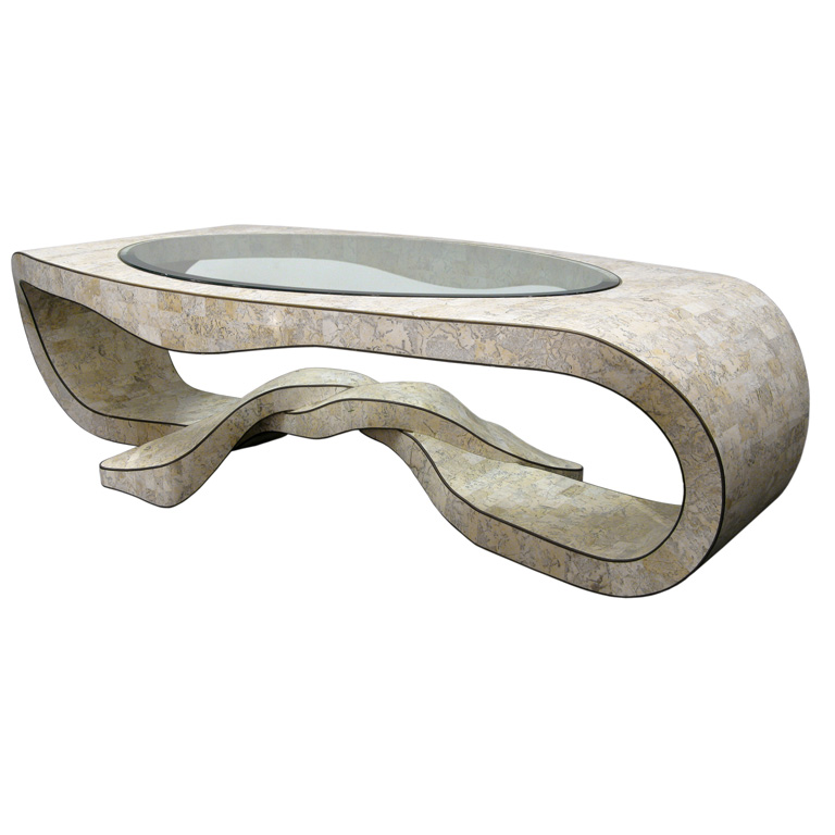 Image of: awesome Stone Coffee Table