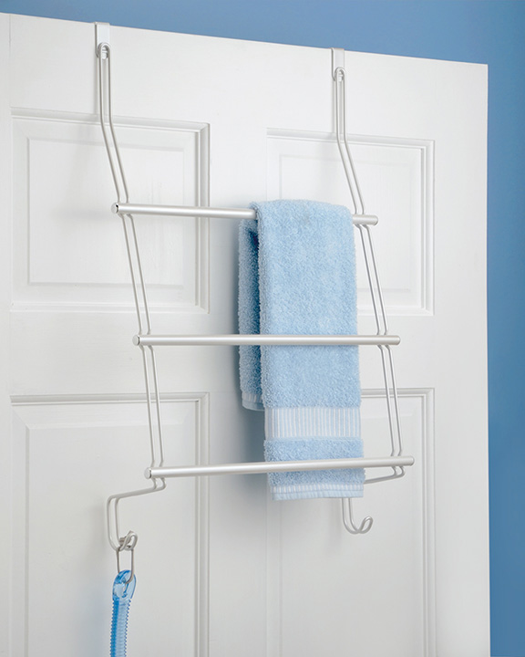 Awesome Over The Door Towel Rack