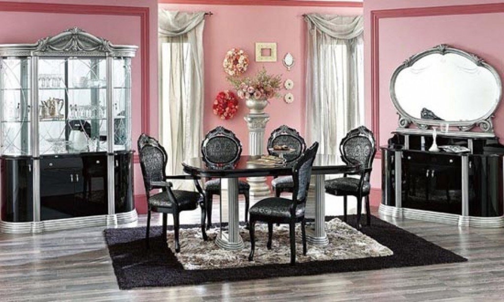 Picture of: beautiful modern dining room sets