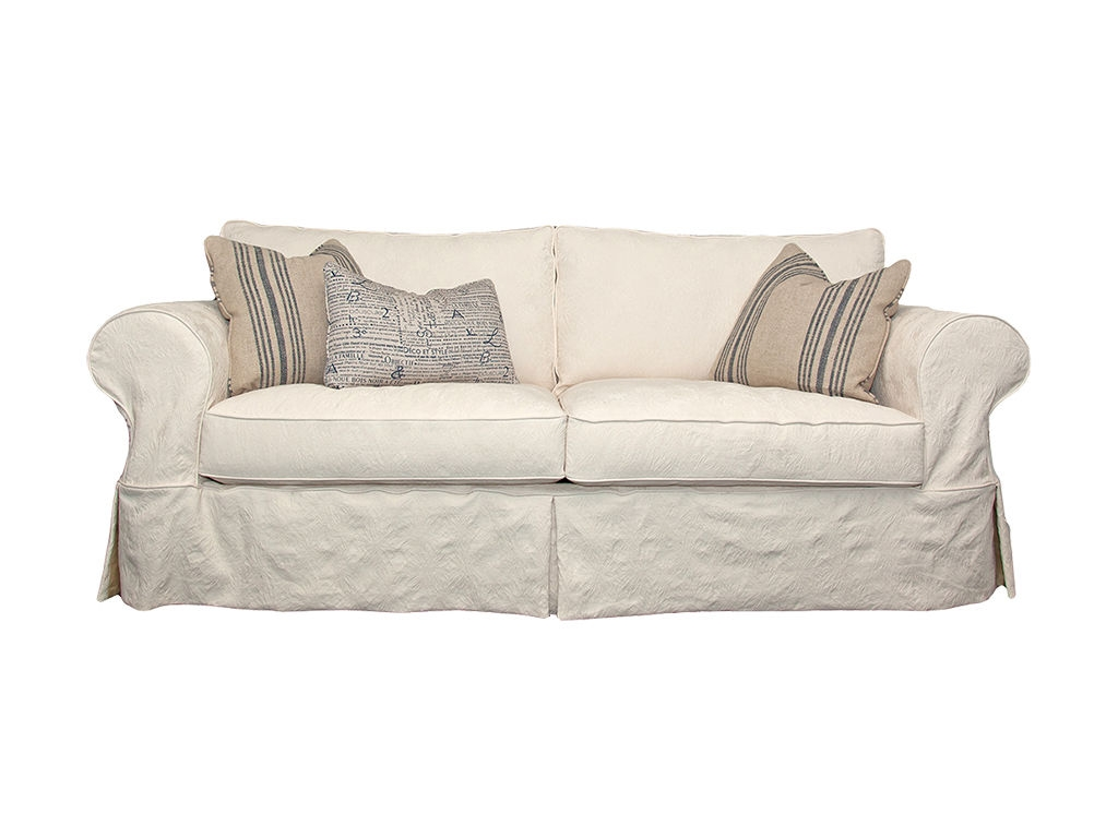 Beautiful Slipcovered Sofas