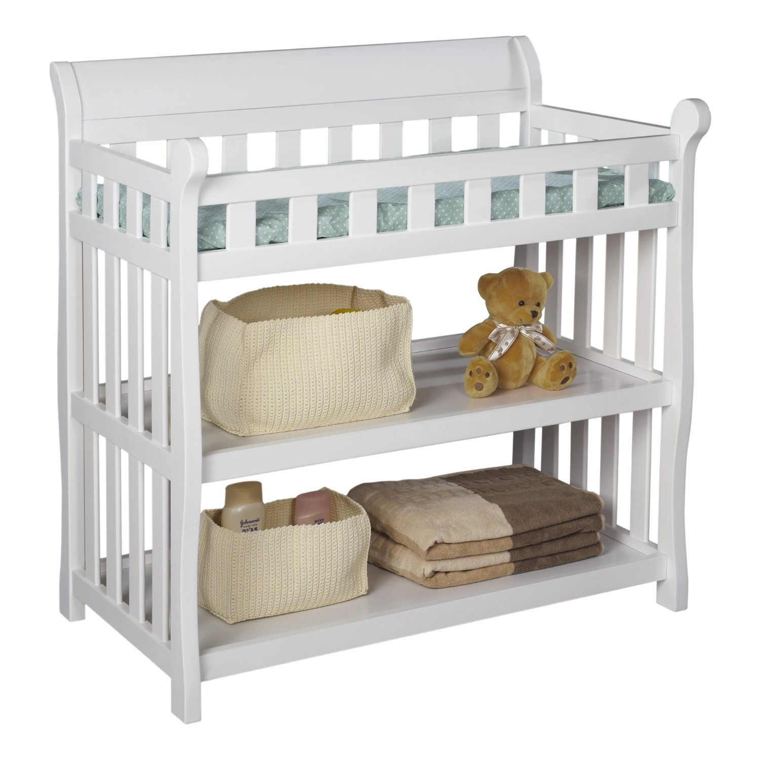 Image of: best  corner changing table for children