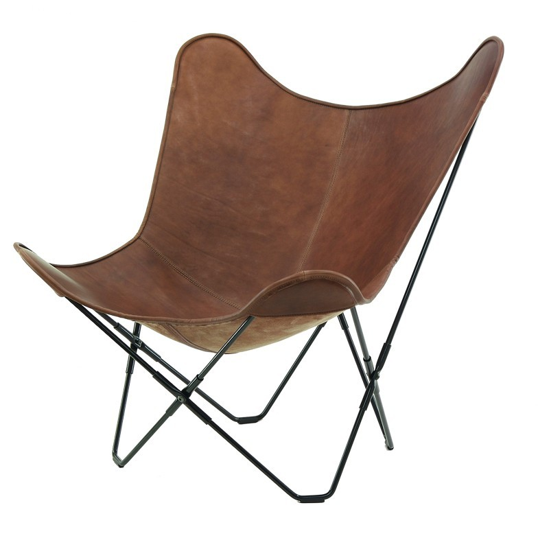 Image of: brown butterfly chairs