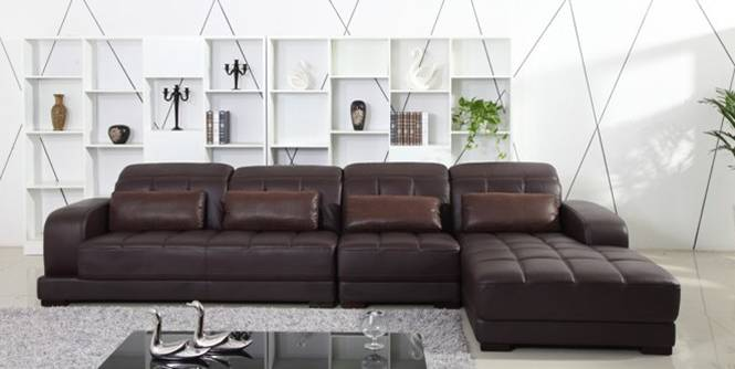 Image of: cheap leather sectional sofas
