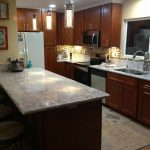 Cherry Cabinets Maple Glass