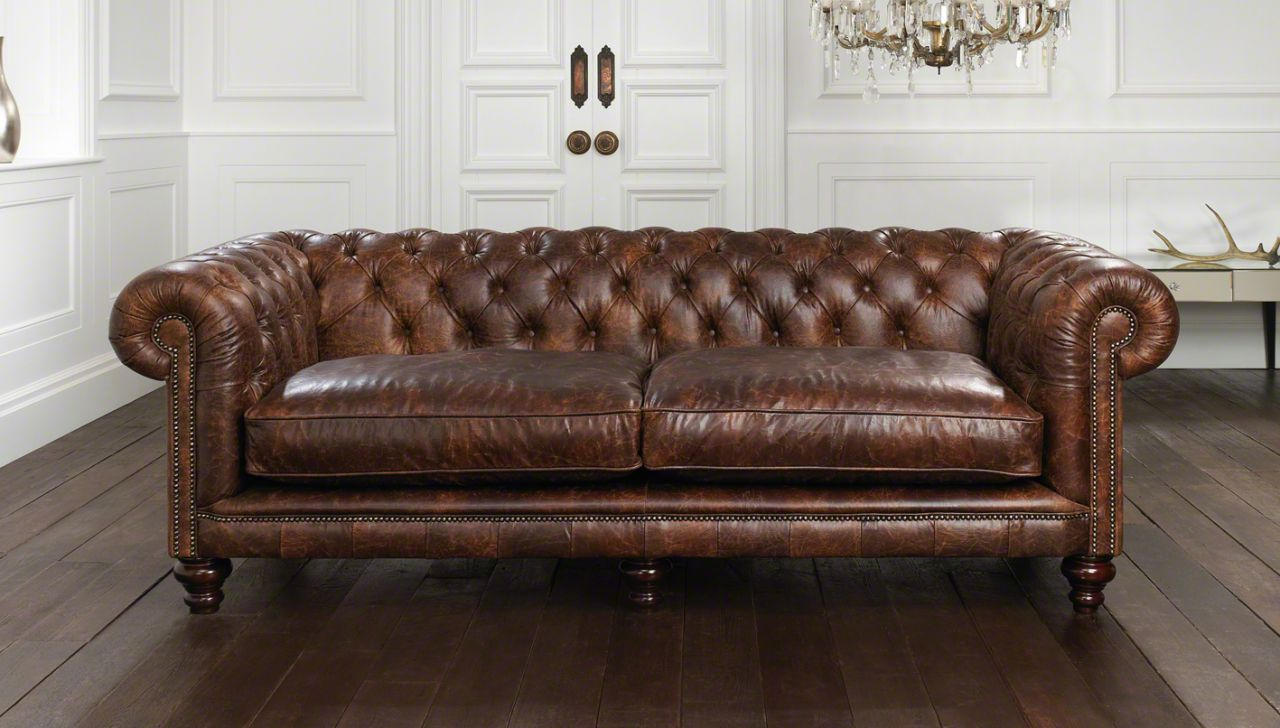 Image of: chesterfield sofa design