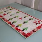 christmas table runner ideas image