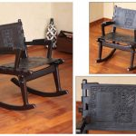 classic wooden rocking chairs