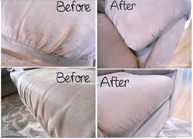 Clean Microfiber Sofa In Tips