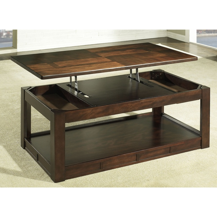 Picture of: coffee table with lift top picture