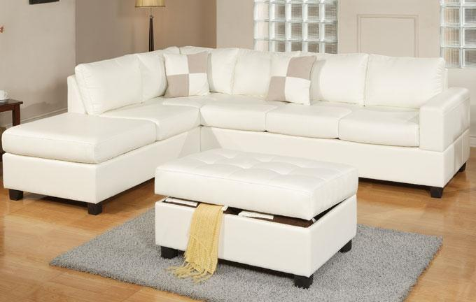 Image of: color leather sectional sofas